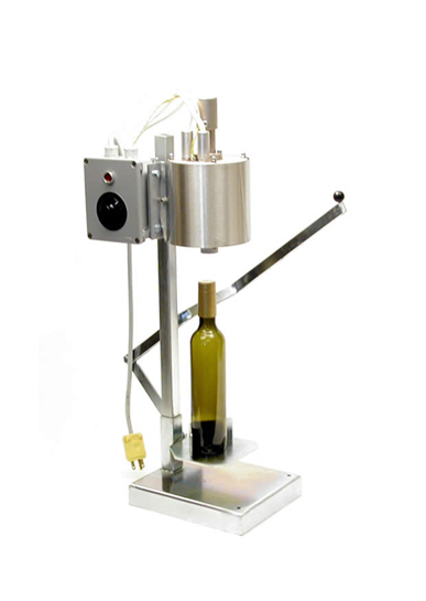 Bottling - Vertical Thermal Capper with Heat Regulator