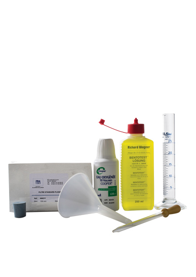 Oenological & Laboratory Products - Bentonite Testing Kit